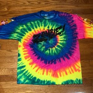 Flatbush Zombies Tie Die Long Sleeve
